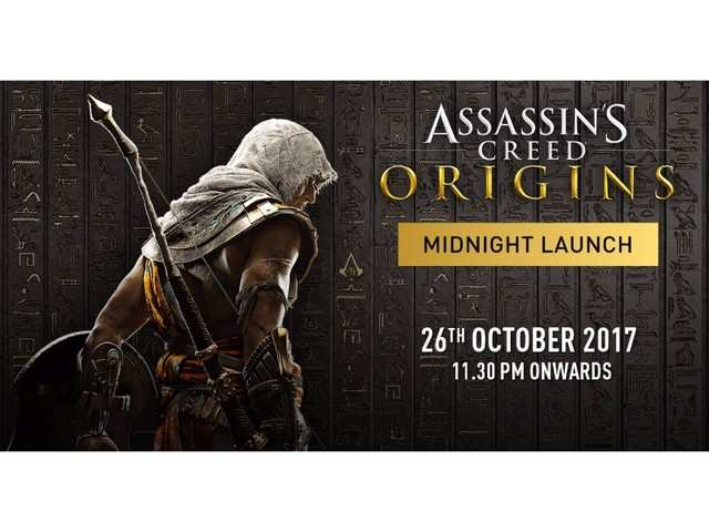 Assassin's Creed Origins to be launched in India on October 26