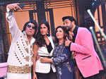Boman Irani, Katrina Kaif, Farah Khan and Abhishek Bachchan