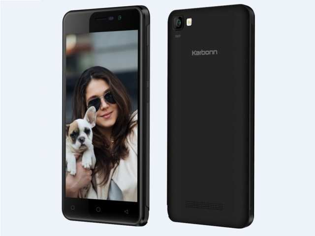 Karbonn launches K9 Smart Selfie smartphone with 8MP front camera at Rs. 4890