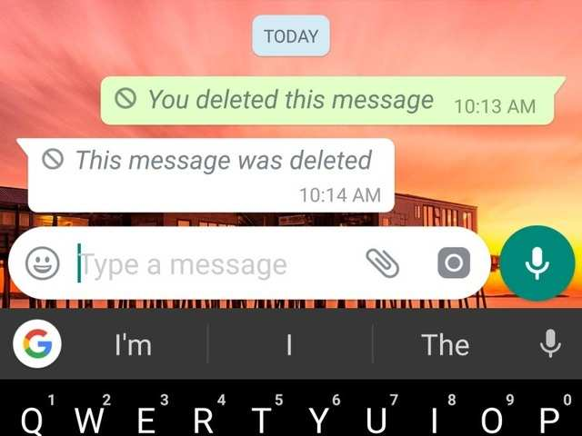 WhatsApp bug lets you delete messages even after 7 minutes