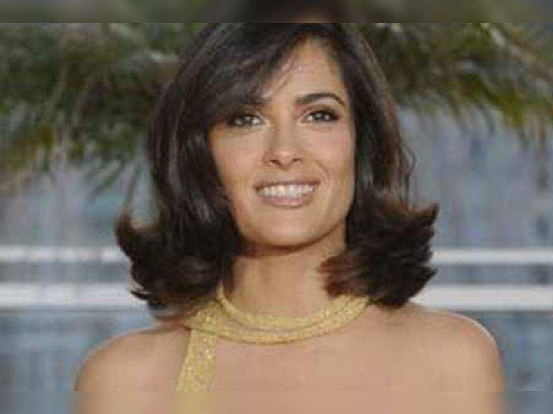Salma Hayek Daughter Made Me Change Name Salma Hayek English Movie News Times Of India