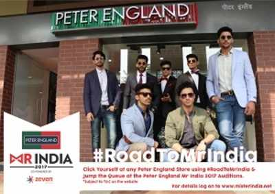 Jump the queue at the Peter England Mr India 2017 audition