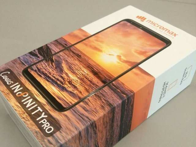 Micromax Canvas Infinity 'Pro' retail box surfaces ahead of launch, specs leaked