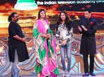 Anushka Ranjan and Rohit Roy