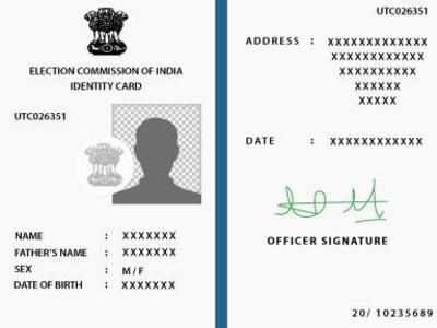 How to change address in voter ID card | India News - Times