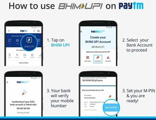 BHIM UPI: How to use BHIM UPI payment feature in Paytm app | Gadgets Now