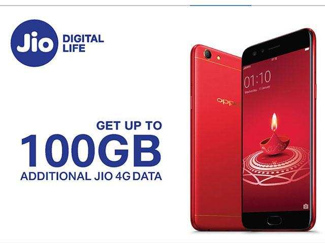 Oppo users, here's how you can get up to 100GB free data from Reliance Jio