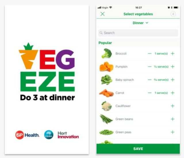 This smartphone app claims to tackle people's dislike for veggies