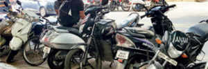Parking violations lead to traffic chaos on Tilak Rd