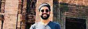 Farhan Akhtar at the Sun Temple in Konark