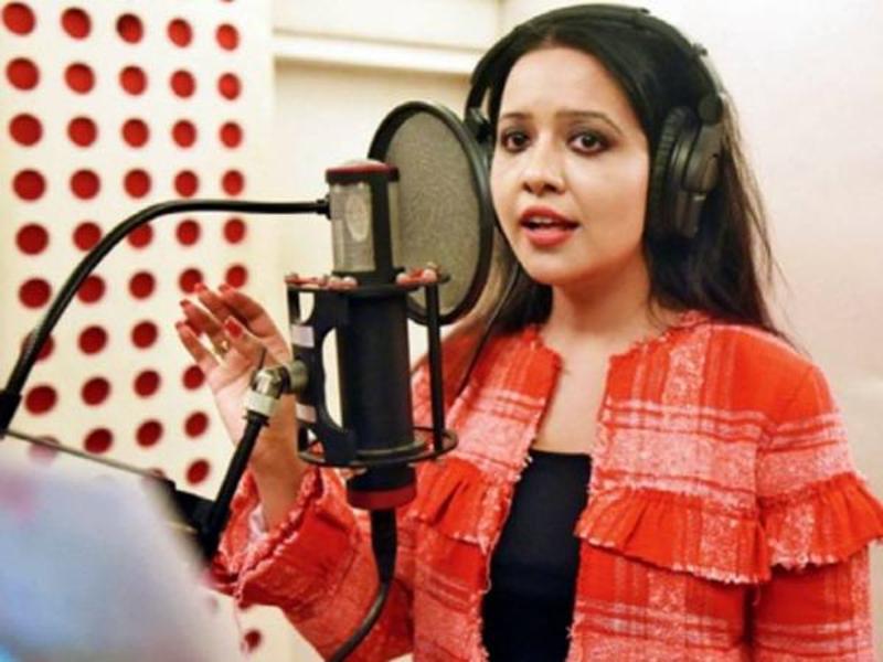 Amruta Fadnavis to sing for yet another Marathi film