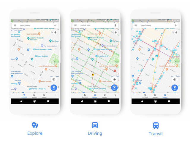 Internet search giant Google's one of the most commonly used service Google Maps has undergone a major revamp today and also includes additional features.