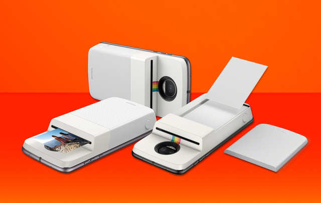 Motorola launches Polaroid Insta-Share Printer Moto Mod