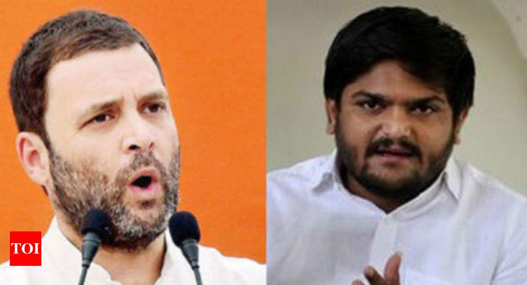 Gujarat Election 2017 Congress Paas Reach Agreement Over
