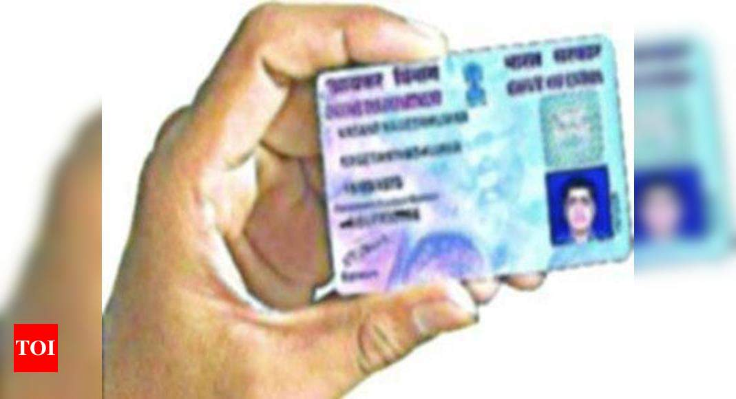 pan card how to check pan card details  times of india