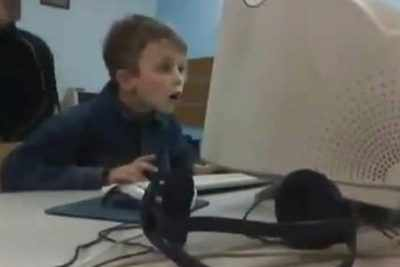 Watch Young Boy Freaks Out After His Mom Checks His Browser