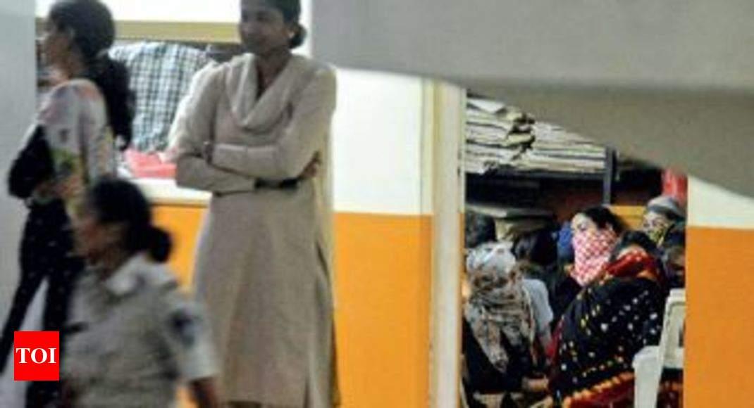 spa raids 28 thai women detained ahmedabad news times