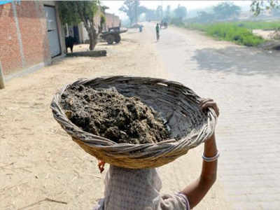 tradition of manual scavenging: UP's 3rd most clean city Jhansi ...