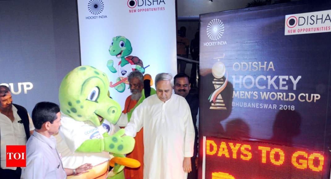 Odisha Hockey Mens World Cup Odisha Cm Unveils Logo Mascot Of