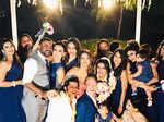 Aashka Goradia and Brent Goble's wedding
