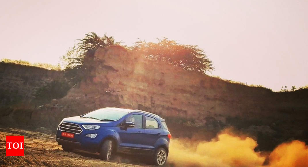 Ford Ecosport  Ford Ecosport Review A New Face A New Heart Times Of India