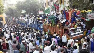 Eid-e-Milad-un Nabi celebrated | Ahmedabad News - Times of India