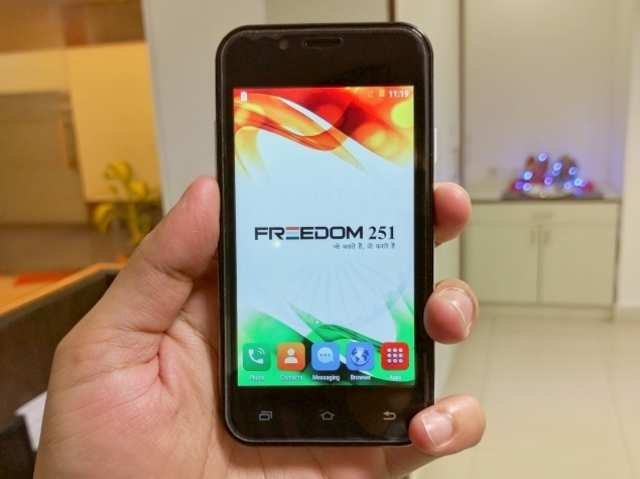Two held for failing to deliver Freedom 251 smartphones