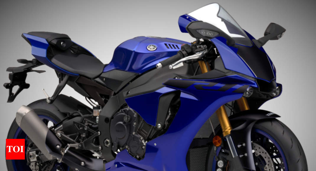 2018 Yamaha YZF-R1 superbike launched in India - Times of India