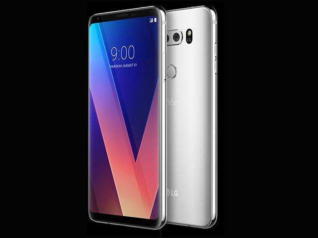 The smartphone was launched in Korea in September this year and offers 128GB internal storage as compared to the 64GB internal storage on the LG V30.