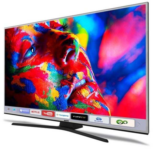 Sanyo launches its first 4K smart TVs in India