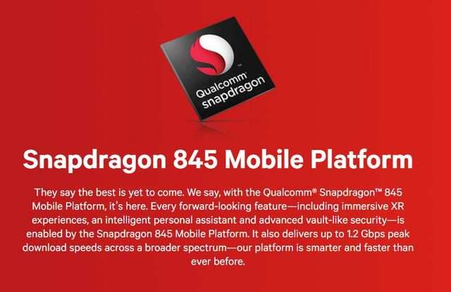 Comparison: Snapdragon 845 vs Snapdragon 835