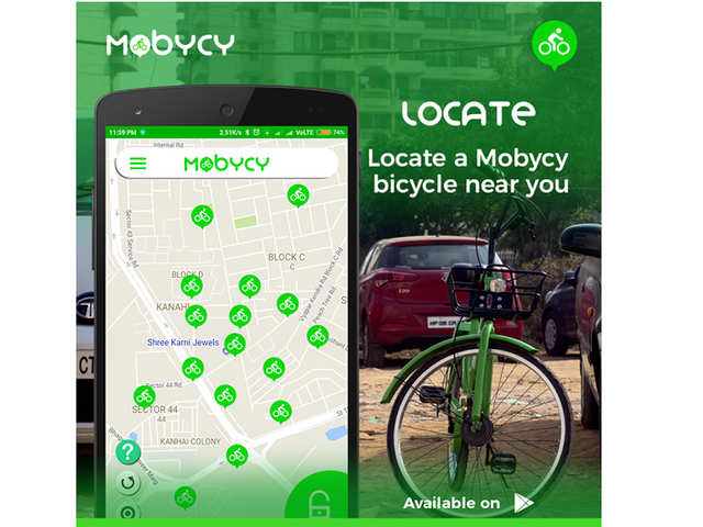 Gurgaon-based startup launches dockless bicycle sharing app