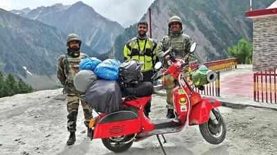 Scootering around India on a 25-year-old Chetak | Bengaluru News