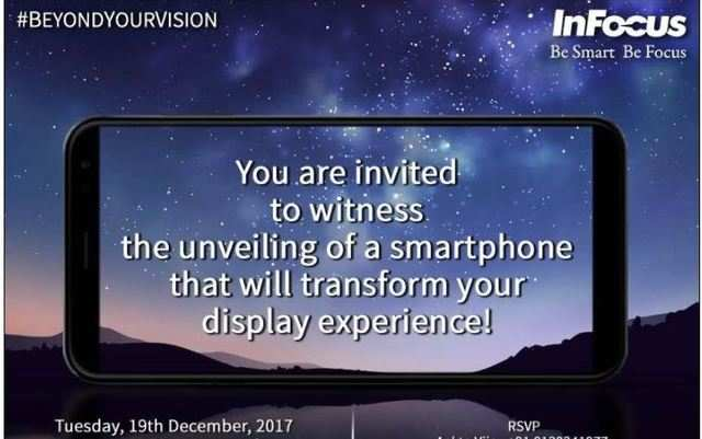 InFocus to launch a bezel-less display smartphone on December 19