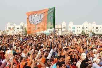 Despite Patidar unrest, BJP's vote share intact in Gujarat: Exit poll