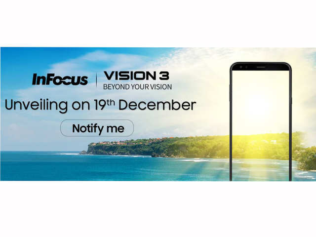 InFocus to launch its first 'bezel-less' smartphone Vision 3 today