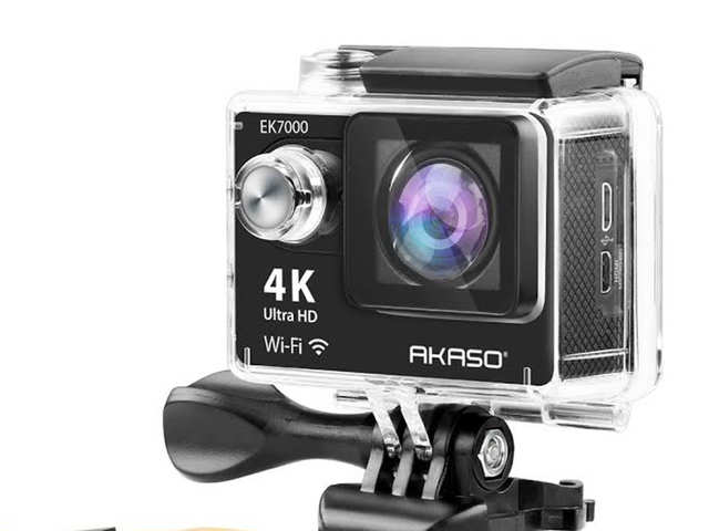 Akaso EK7000 4K action camera launched in India, priced at Rs 7,999
