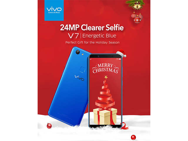 Vivo V7's Energetic Blue colour variant launched in India at Rs 18,990