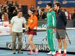 Sunil Gavaskar, Sania Mirza, Novak Djokovic and Roger Federer