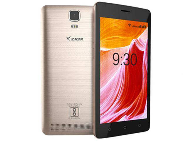 Ziox Duopix F1 smartphone with dual-selfie cameras launched at Rs 7,499