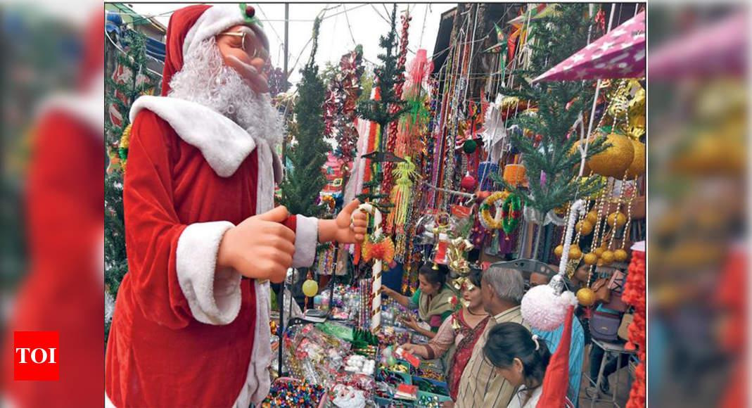 Christmas Celebrations Christmas Cheer Warms Up Cold Ahmedabad Ahmedabad News Times Of India