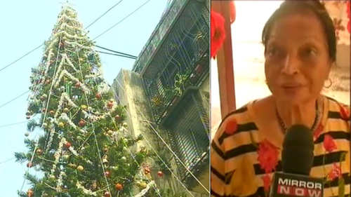 watch 65 ft tall christmas tree in mumbai