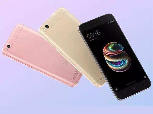 Xiaomi Redmi 5A to go on sale today at 12PM via Flipkart and Mi.com websites