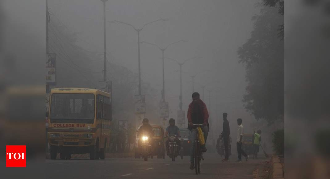 Foggy and cold weather continues in Ludhiana | Ludhiana