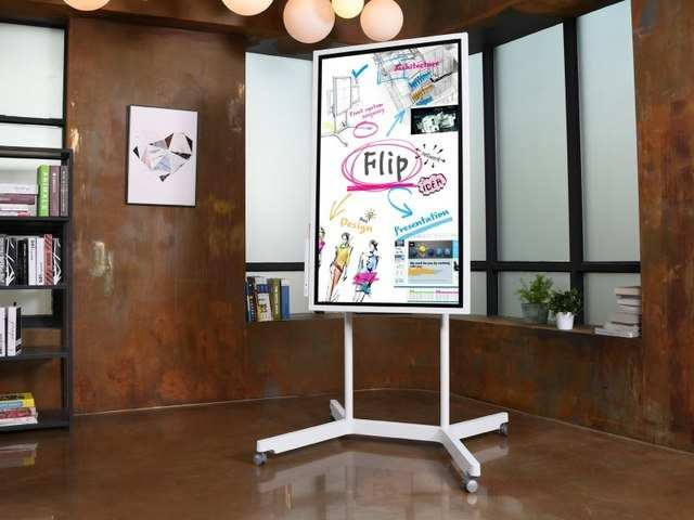 Samsung launches 'Flip' to compete with Google's Jamboard, Microsoft's Surface Hub