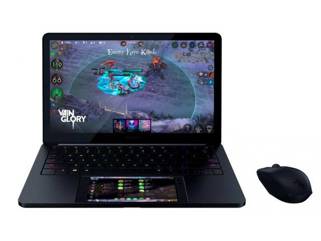 Razer unveils Android laptop-phone Hybrid Project Linda at CES 2018