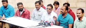 KKM alleges bias in FIR against them