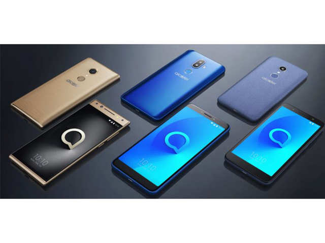 Alcatel 1X, Alcatel 3V and Alcatel 5 with 18:9 full view display unveiled at CES 2018