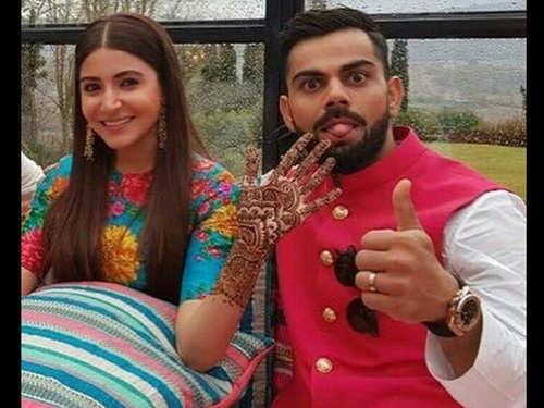 Anushka Sharma - Virat Kohli wedding and reception: Things that made  headlines | The Times of India