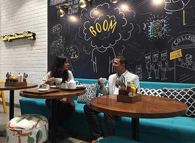 (L-R) Manali and Abhinav, owners, Cafe StayWoke